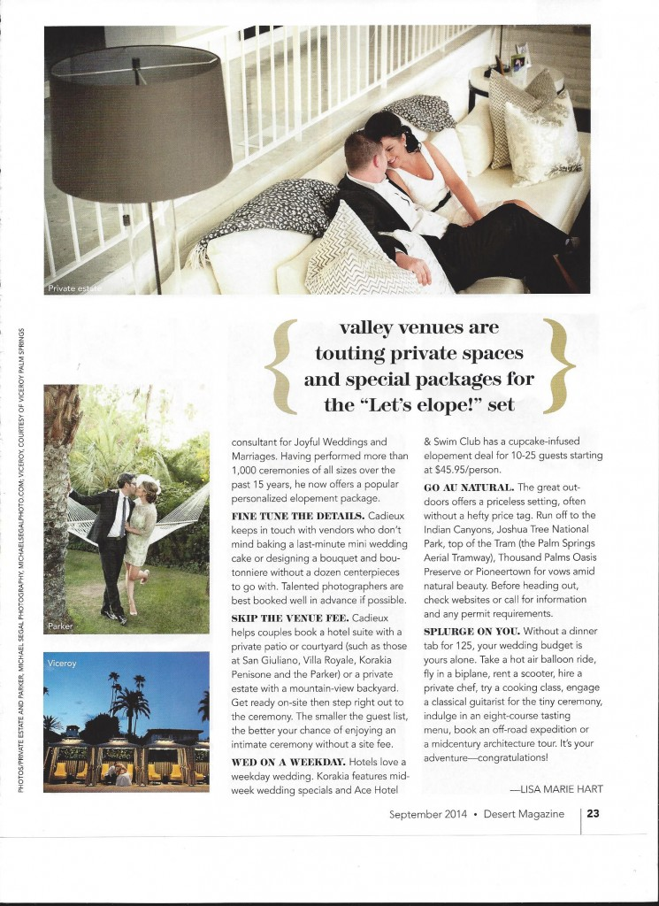 Desert Sun Elope Article Page 2